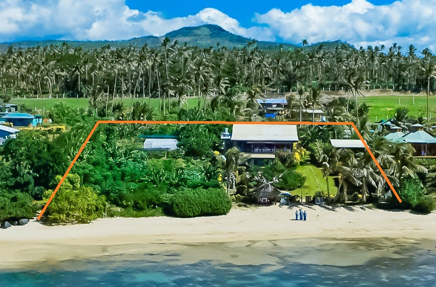 Coconut Grove Beachfront Cottages Freehold Title Boundary Lines