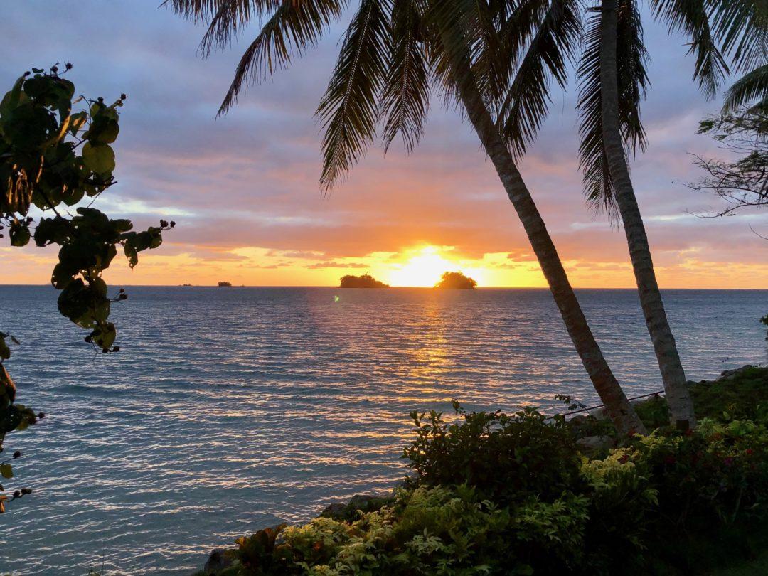 Taveuni Sunrise July 2020